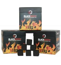 Kokosové uhlíky BLACKCOCO's, 3 x 1kg