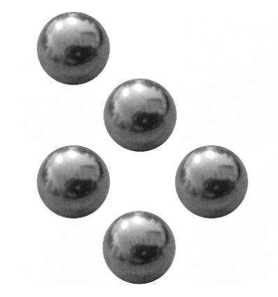 Gulička kov 10mm