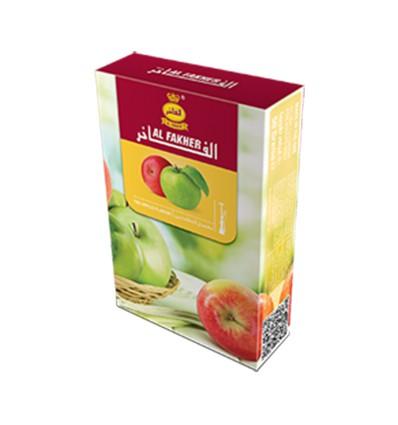 Al Fakher Dvojité jablko - 50g, tabak do vodnej fajky