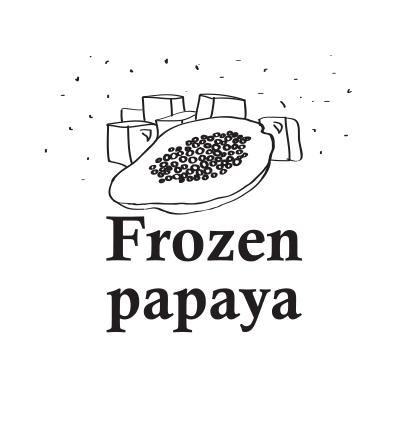 Hookah Cream Frozen Papaya