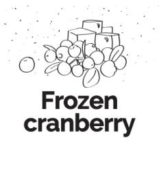 Hookah Cream Frozen Cranberry