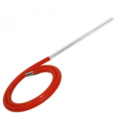 Hadica Silikon Slight Line XL, červená