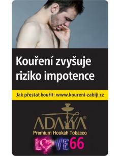 Adalya Love 66 - 50g, tabak do vodnej fajky