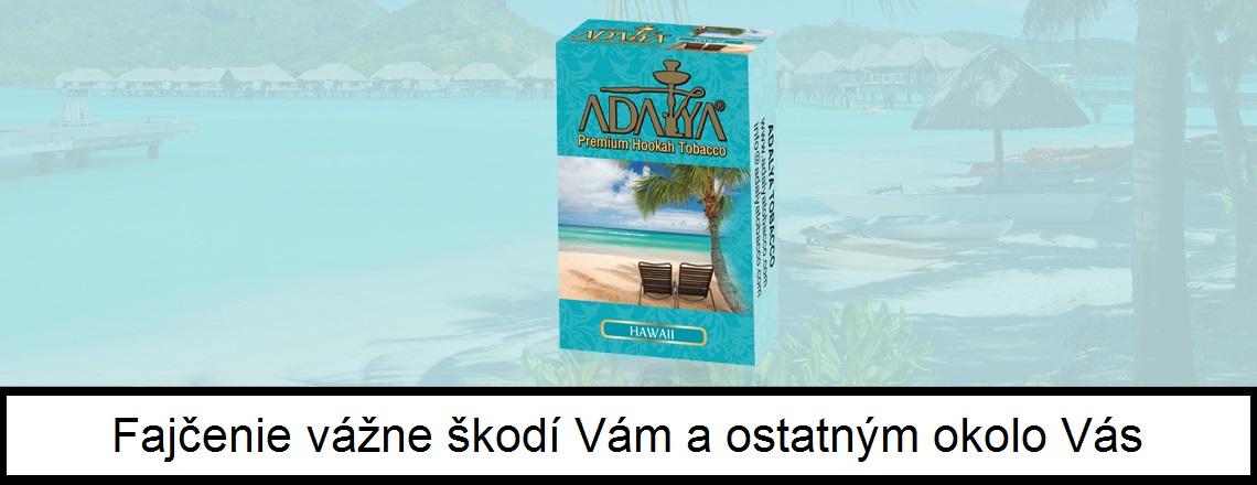 Adalya Hawaii - 50g, tabak do vodnej fajky